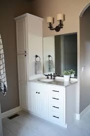 Bathroom Vanity Storage Tower Awesome Ronbow 679015 1 W01 Shaker 15 Linen Cabinet Storage Tower
