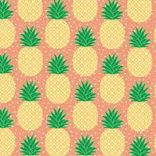 wrapping paper tropical pineapple wrapping paper 3 sheets prints