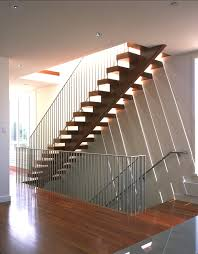 handrails staircase modern with metal railing curved staircase