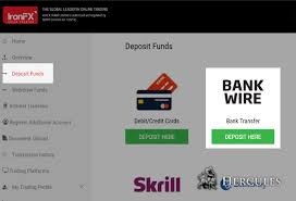 Where Can I Make A How Can I Make Deposits To Ironfx Mt4 Account Via Bank Wire