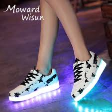 light up sole shoes fashion led sneakers glowing sneakers with light up sole luminous