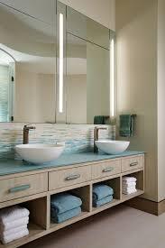 bathroom backsplash ideas modern with mirror top vanities tops