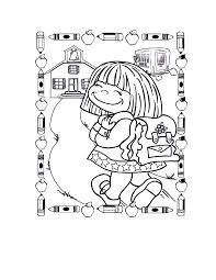 preschool coloring pages school lifetime first day of preschool coloring pages sheet for