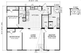 Floor Plans For Mobile Homes Double Wide Double Wide Mobile Homes Factory Expo Home Center