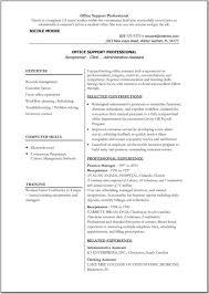 Std Resume Format Standard Resume Template Microsoft Word Resume For Your Job