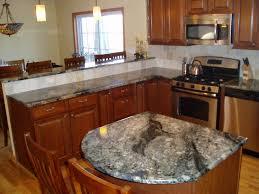 Wood Kitchen Island Top Kitchen Amazing Kitchen Countertop Decor Ideas Brown Seamless