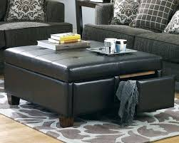 storage ottoman coffee table with trays storage ottoman table charming storage ottoman coffee table best