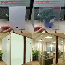 20x30cm pdlc smart glass eglass switchable emagic electroch film