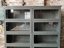 Steel Barrister Bookcase Bergen Office Furniture Mid Century Steel Furniture