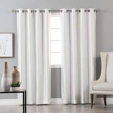 White Faux Silk Curtains Faux Silk Curtains Drapes For Less Overstock