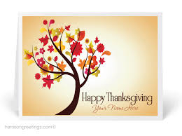 business thanksgiving cards contemporary tree thanksgiving card