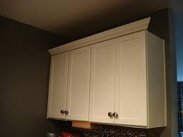 Crown Moulding Above Kitchen Cabinets Adding Molding To Kitchen Cabinets Home Designs