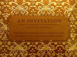 Invitation Card Grand Opening It All Began With An Invitation Listen To Lena