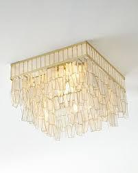 capiz flush mount light mariah capiz flush mount ceiling fixture neiman marcus