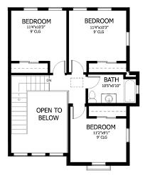 appealing 2nd floor house plan images best idea home design