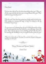 21 best santa letter templates images on pinterest christmas