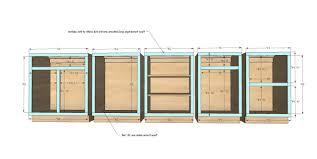 kitchen cabinet construction plans kitchen cabinet frames kitchen ethosnw com