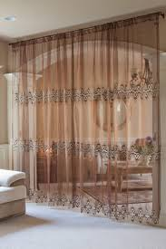 Pinch Pleated Patio Door Drapes by Curtains For Sliding Doors Kohls Rods Kohls Showytains Floral