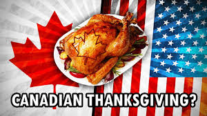 american vs canadian thanksgiving cool history
