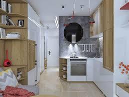 cuisine pour appartement amenagement cuisine avec le plantes vertes nouveau 4 idées