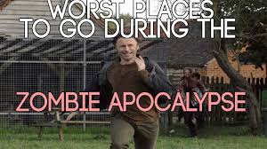 worst places to go in a apocalypse top 5