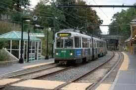 transit mbta driver slaps on green line