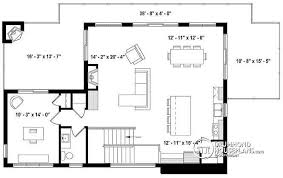 deck floor plan house plan w3891 detail from drummondhouseplans com