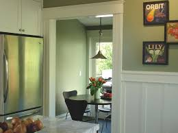 dining room wainscoting traditional kitchen area by boor bridges