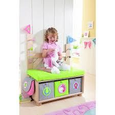 banc chambre enfant banc avec portemanteau enfant haba secret de chambre