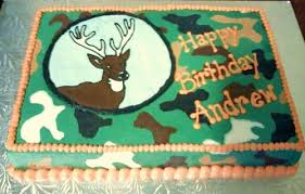 andrew u0027s deer hunter cake sweet lauras flickr