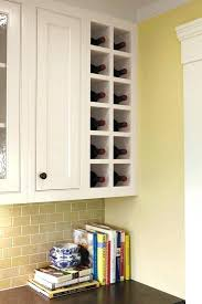 kitchen wine rack ideas built in wine rack in kitchen cabinets wine rack cabinet diy wine