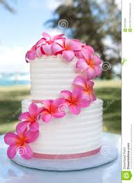hawaii flower cake stock photo image 62075929