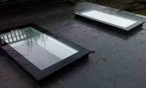 flat rooflights flat roof skylights flat roof windows flat