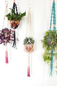 diy macrame plant hanger workshop fun the sweet escape creative