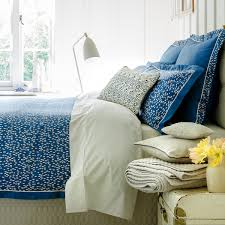 christy evelyn petrol blue bed linen christy