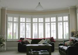 Measuring Bay Windows For Curtains Window Blind Beautiful Bay Window With Venetian Blinds There