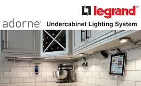 led kitchen cabinet lighting legrand adorne led undercabinet lighting system leff electric