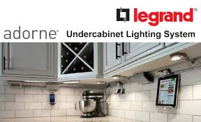 under cabinet lighting systems legrand adorne led undercabinet lighting system leff electric