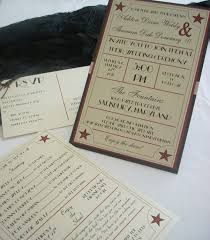 1940 u0027s old hollywood wedding invitation set of 100 wedding