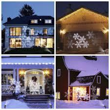 Light Flurries Snowflake Projector Review by Greenclick Christmas Projector Light Led Snowflakes Waterproof