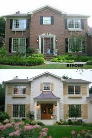 best 25 brick exterior makeover ideas on pinterest diy exterior