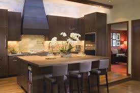 Contemporary Kitchen Cabinets Walnut Kitchen Cabinets With Decorative Range Hoods Wood And