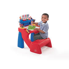 fisher price step 2 art desk shop step2 write desk at lowes com