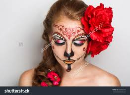 woman mask halloween stock photo day of the dead skull mask art woman beautiful face