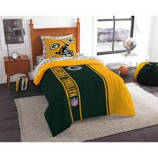 Alabama Bed Set Nfl Green Bay Packers Soft And Cozy Bed In A Bag Complete Bedding