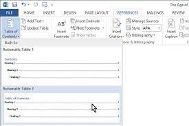 membuat daftar isi table of contents di word 2007 bagaimana membuat daftar isi dalam microsoft word