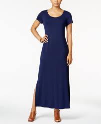 sleeve maxi dress style co sleeve maxi dress created for macy s dresses
