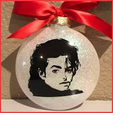 michael jackson michael jackson ornament glass ornament