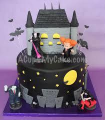 Halloween Cake Decorations Edible by Halloween Acup4mycake