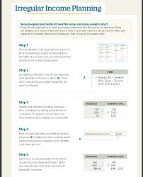 Dave Ramsey Budget Spreadsheet Excel Free by Irregular Income Budget Dave Ramsey Budget Templates